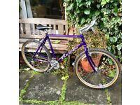 Saracen Terratrax retro mountain bike.