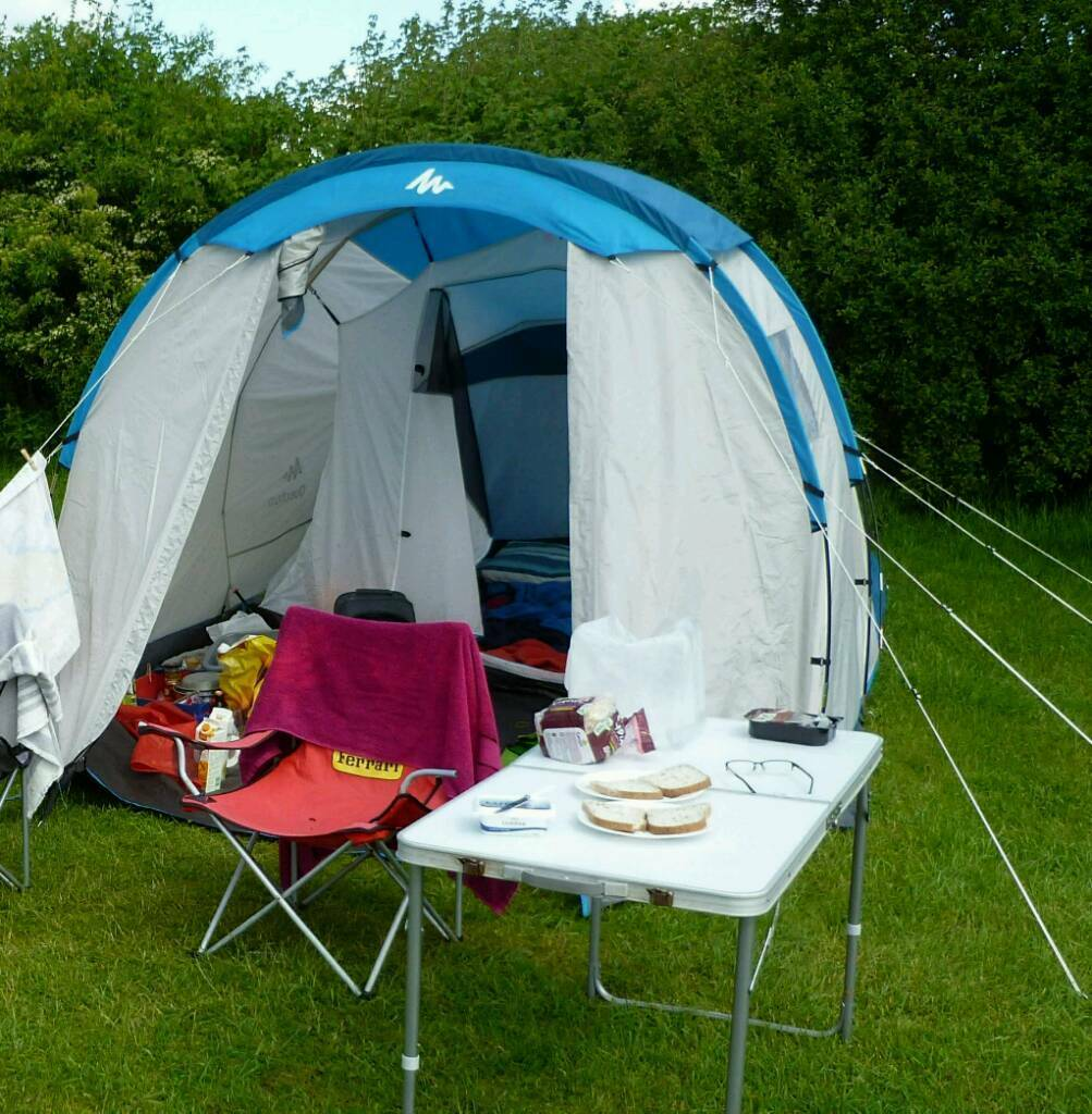 Quechua Arpenaz 4 1 Camping Tent In Cheltenham
