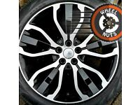 "21"" Genuine Rangerover / Rangerover Sport alloys excel cond new Pirelli Scorpion tyres."