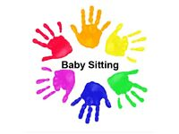 Weekend and summer holidays babysitter