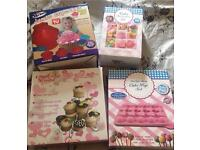 Cupcake and baking accessories