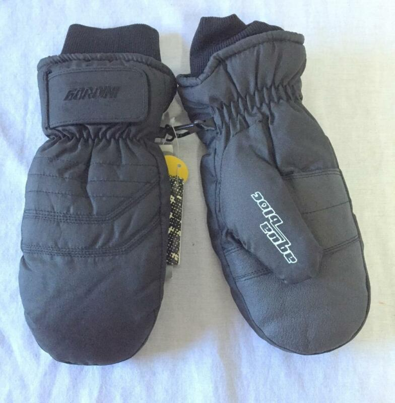 Gordini Jr Snow Ski Mittens Size Medium Black NEW