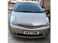Toyota Prius T Spirit 1.5 Hybrid 5dr (Gold) 2007 1 Year MOT Only £10 Road tax per year