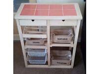 Wooden Vegetable Storage Rack