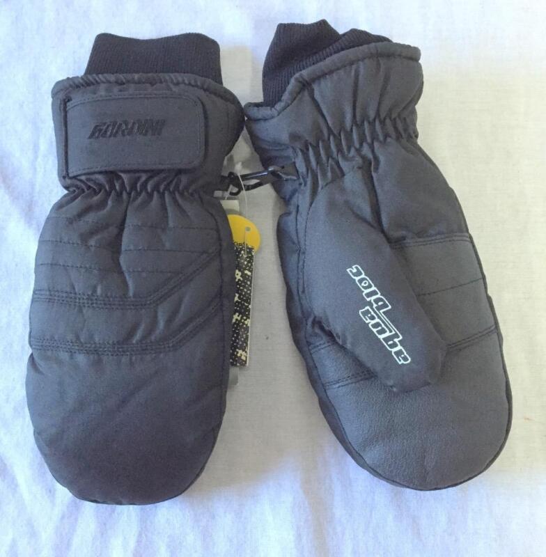 Gordini Jr. Snow Ski Mittens Size XL Black NEW