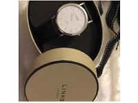 Men's watch brand new boxed £180 by LINKS OF LONDON