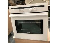 Neff Electric Single Fan Oven - White - Integrated / Built-in