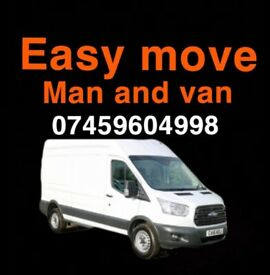 Man and van removals. Cheap. Fast. available 24/7
