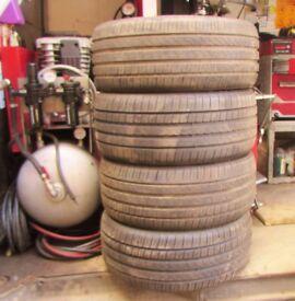 Pirelli P7 245/40X18 Nearly New No Repairs X4