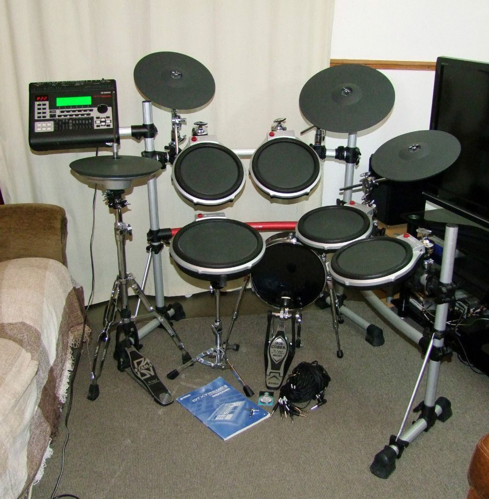 Yamaha dtxtreme iii dtx900m dtxtreme iis upgraded for Yamaha electronic drum kit for sale