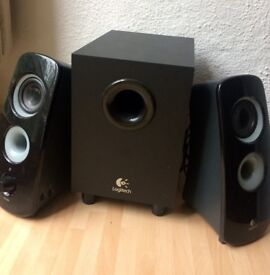 Logitech Speakers with Subwoofer **awesome sound for at home**