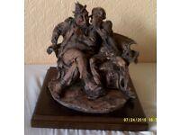 Very Rare Giuseppe Armani Figurine The Joke by Capodimonte
