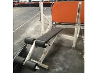 LIFE FITNESS OLYMPIC DECLINE BENCH FORSALE!!