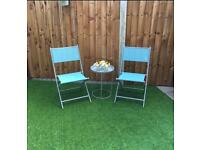 Garden Table and Chairs. Bistro Set