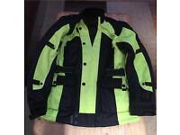 Motor cycle jacket small-medium