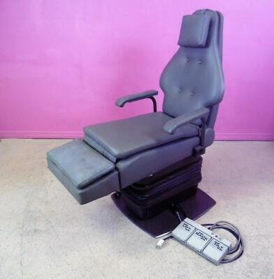 Pdm Podiatry Procedure Electric Power Exam Patient Treatment Chair- Auto Return
