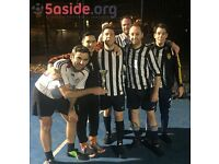 Sign up now ready to start 5-a-side football in the New Year in Battersea!