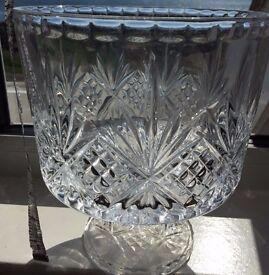 Dublin Crystal Trifle Bowl