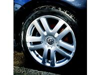 "17"" Vw Golf Mk5 4 alloy wheel"