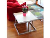 White marble coffee/ side table