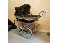 Silver Cross Coachbuilt Vintage Doll's Pram