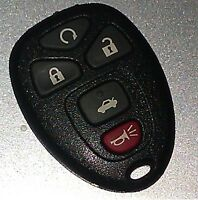 GM remote keyless entry key FOB (15912860)