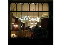 Assistant Restaurant Manager required for Wild Honey restaurant.