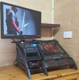 Gaming PC Computer Tower Intel i7 950 24GB / 256GB SSD / 2TB HDD / RX550 Win 10 Tower Only