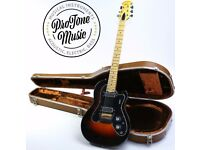 1975 Ovation Viper USA Three Colour Sunburst & Original Hard Case