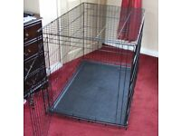 VERY LARGE DOG CAGE 107 x 71 x 76 cm