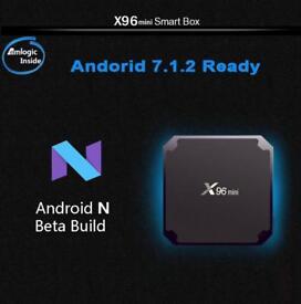 X96mini, BNIB, Quadcore Android Box, 2gb Ram & 16gb Rom. TWO BUILDS!!