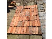 Reclaimed Warwickshire brick slips
