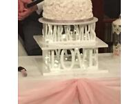 Cake stand with lights