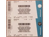 100 YEARS OF MAGIC - DISNEY ON ICE (LEEDS ARENA) SATURDAY 25 MARCH 14:30