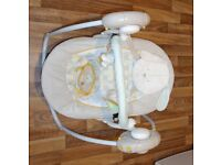 Used baby swing / rocker chair Bright stars
