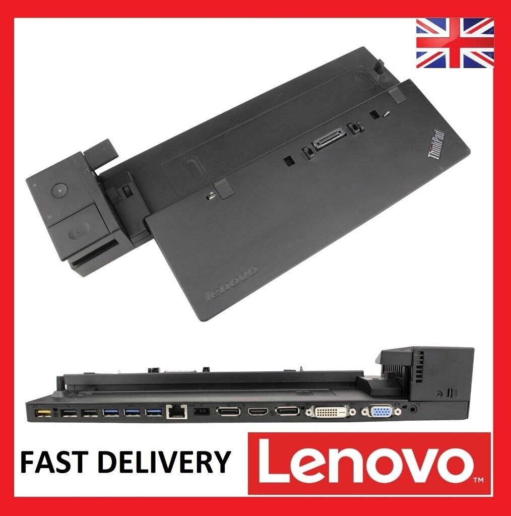 Lenovo ThinkPad Ultra Dock 40A2 with 2 KEYS - T440 T450 T460 T470 X240 X260  T540 L | in Royal Mile, Edinburgh | Gumtree