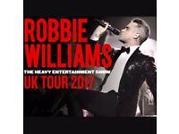 Robbie Williams Tickets = Cardiff