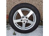 "Vauxhall Wheels & Bridgestone WINTER Tyres 16"" x4"