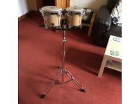 Natal Fuego Bongos set with stand and carrier case - condition: like new