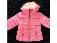 Next Pink Padded Bubble Coat Age 5/6