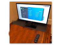 """Samsung 27"""" HD Freeview TV and Monitor."""