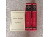 3 BOOKS - A CHURCHILL ANTHOLOGY, CHURCHILL HIS LIFE AND TIMES AND PAINTING AS A PASTIME