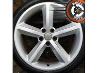 "18"" Genuine Audi TT S Line alloys good cond excel tyres."