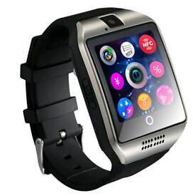 Touch and curve screen Bluetooth smart watch for android and iPhone
