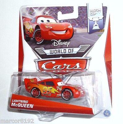 (Disney Pixar The World of Cars 155 Die-Cast Car Piston Cup Lightning McQueen )