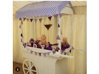 Wedding Business Wholesale Job Lot, Sweet Cart, Glassware, Centrepieces. Full Business