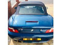 BMW, Z3, Convertible, 2001, Manual, 1895 (cc), 2 doors