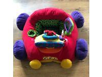 Baby sit me up car
