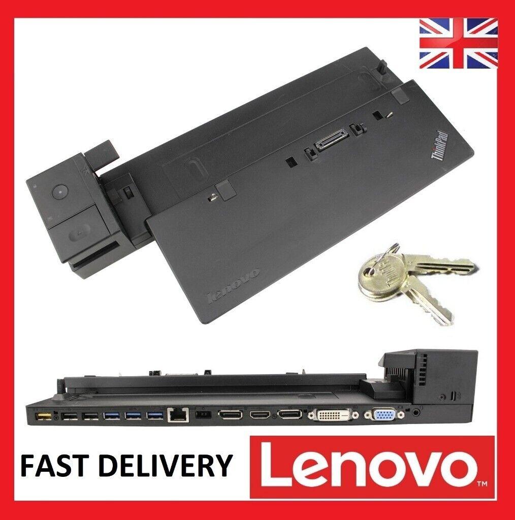Lenovo Thinkpad 40A2 Ultra Dock Laptop Docking Station w//ONE Key