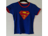 Great Bday Gift!!! Supergirl t-shirt size XS